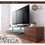 フロアタイプテレビボード 【VEGA】ベガ w180 ホワイト&ブラウン
