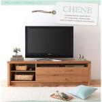 フロアタイプテレビボード 【CHENE】シェーヌ ナチュラル
